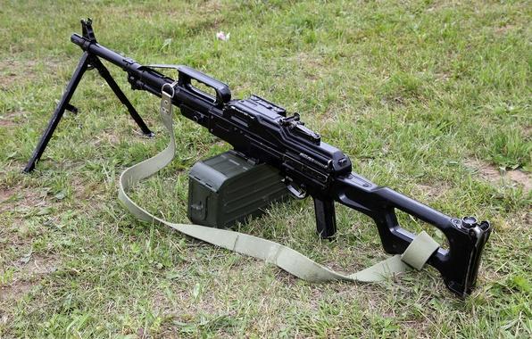 Картинка ручной пулемёт ПКП, Печенег, Pecheneg