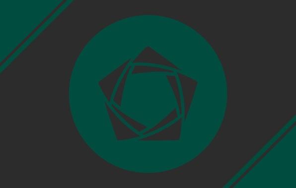 Картинка green, logo, circle