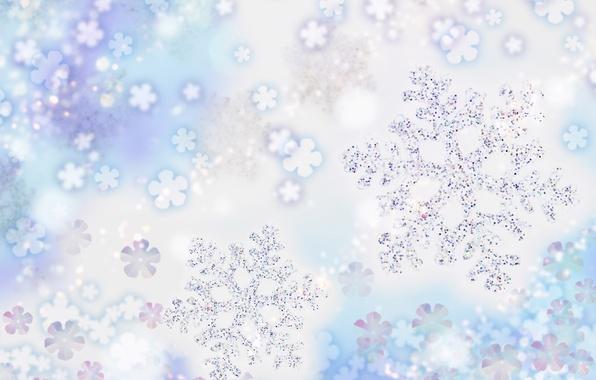 Картинка холод, снежинки, праздник, мороз
