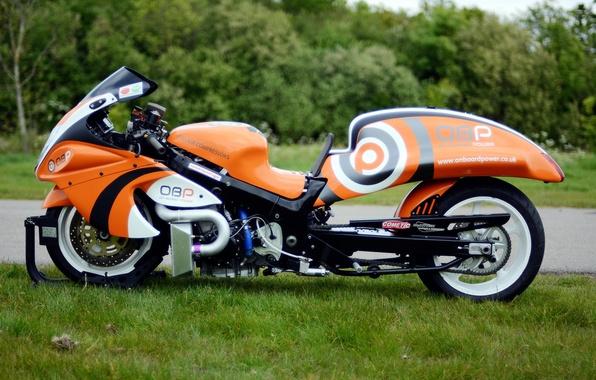 Картинка дизайн, стиль, мотоцикл, форма, байк, Suzuki, drag racing