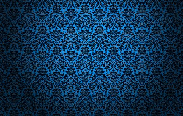 Картинка синий, текстуры, textures