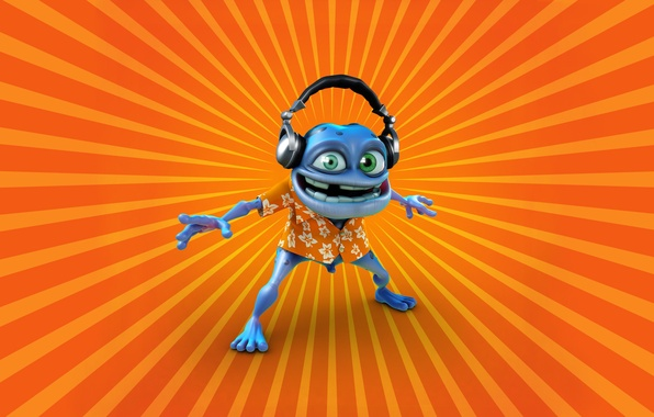 Клип crazy frog-axel f