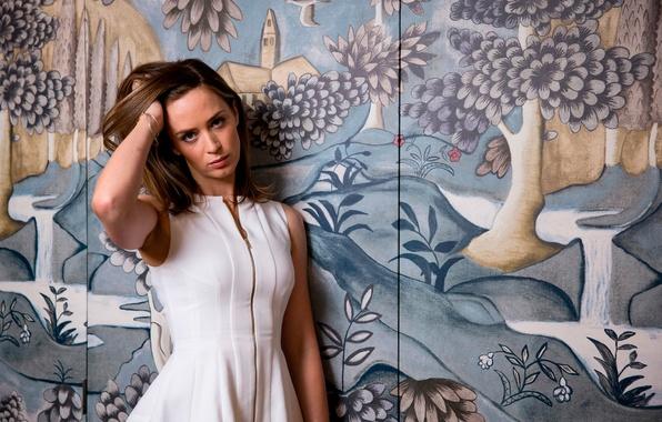Картинка Emily Blunt, Грань будущего, фотосессия для фильма, Фотограф John Phillips