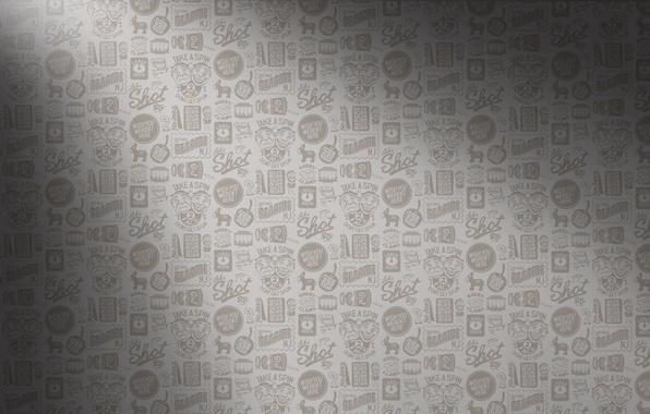 Картинка надписи, серый, фон, текстура