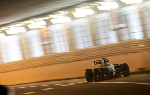 Картинка McLaren, гонки, формула 1, Mercedes, тоннель, монако, автоспорт