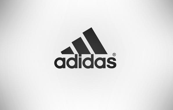 Картинка спорт, адидас, adidas, фирма, товары, беый фон