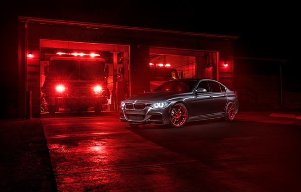 Картинка BMW, Light, German, Red, Car, 335i, Sport, F80