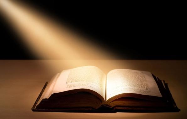 Картинка лучи, свет, книга, библия, book