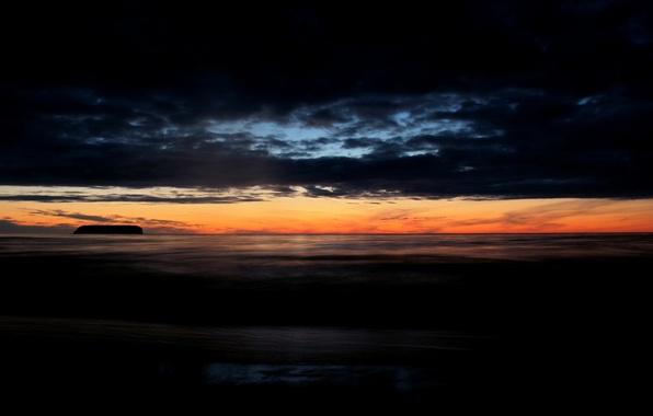 Картинка море, закат, вечер, Пейзаж