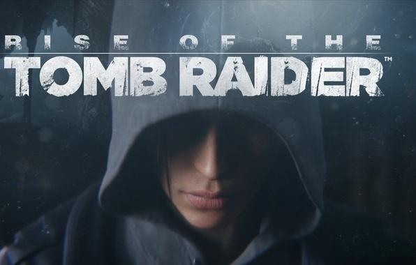 Картинка лицо, капюшон, Lara Croft, Rise of the Tomb Raider
