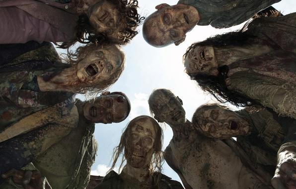Картинка зомби, трупы, The Walking Dead, Ходячие мертвецы