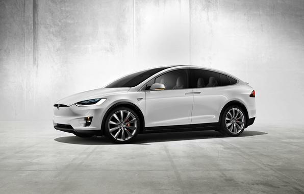 Картинка Concept, концепт, Tesla, Model X, тесла, электрокар