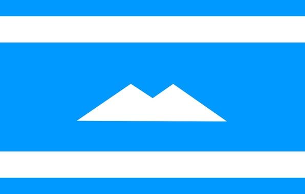 Картинка Флаг, Россия, Текстура, Балкария, Карачай, Кабардино-Балкария, Минги Тау, КЧР, Эльбрус, КБР, Карачаево-Черкесия