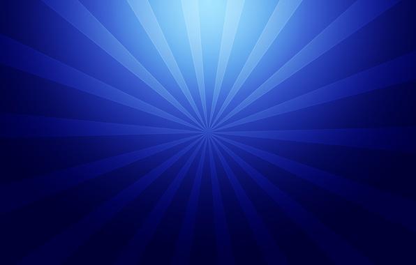 Картинка лучи, линии, синий, абстракция, креатив, фон, абстракции