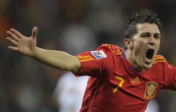 Картинка футбол, победа, 2010, Испания, ЮАР, гол, Барселона, victory, Barcelona, празднование, la Furia Roja, La copa …
