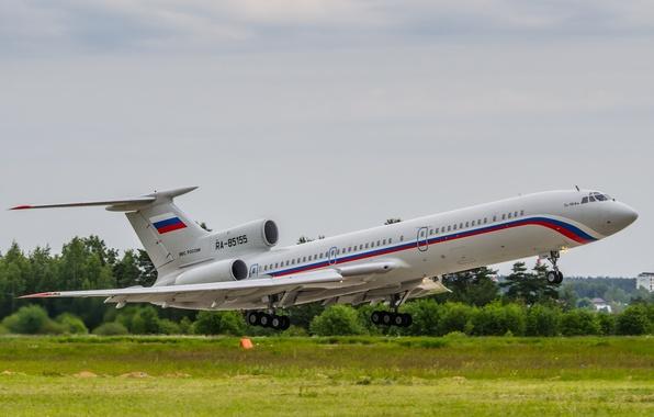 Картинка Ту-154, Tupolev, Туполев, Russian Air Force, Tu-154, RA-85155