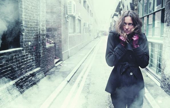 Картинка холод, девушка, одиночество, страх, улица, тревога