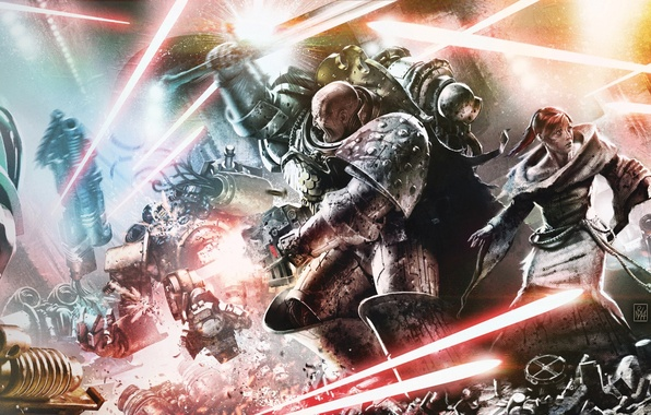 Картинка Horus Heresy, Warhammer 40000, James Swallow, Nathaniel Garro, Garro: Shield of Lies