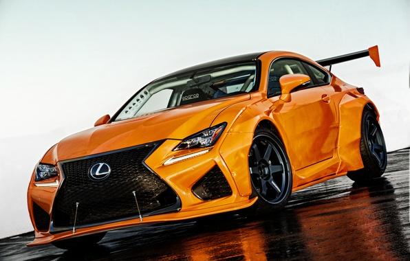 Картинка Lexus, седан, лексус, RC F
