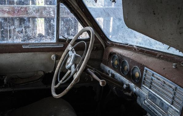 Картинка машина, кабина, Plymouth