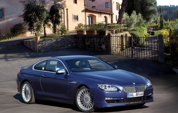 Картинка фото, Синий, BMW, Тюнинг, 2012, Автомобиль, Coupe, Bi-Turbo