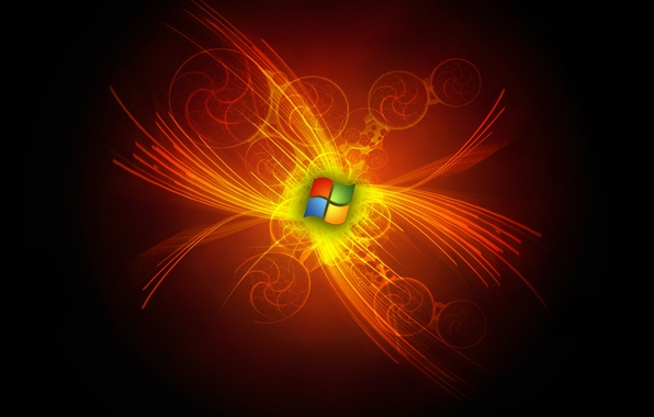Картинка windows, microsoft, logo, abstraction