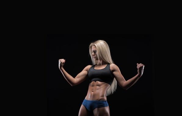 Картинка model, pose, fitness, abs