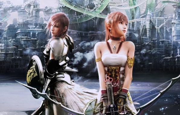 Картинка Final Fantasy, последняя фантазия 13, Final Fantasy XIII-2