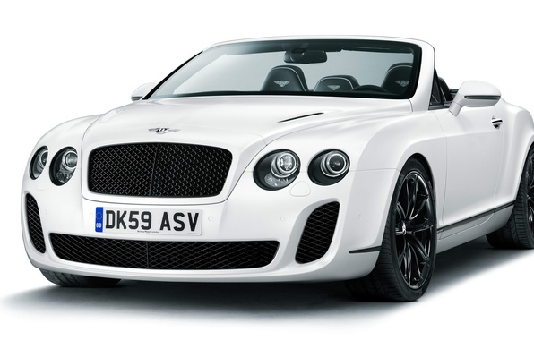 Картинка Bentley, Continental, кабриолет, Supersports