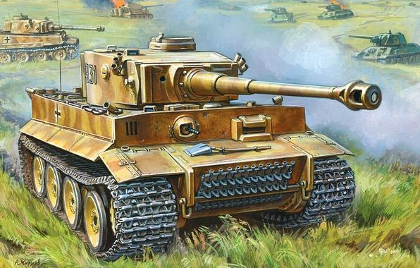"""Картинки по запросу PzKpfw VI """"Тигр I"""" Ausf Н/Е"""
