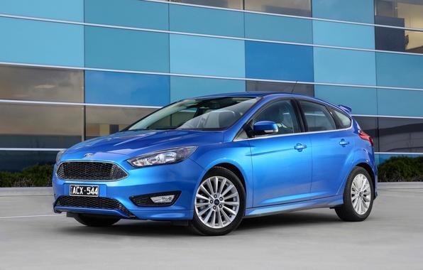 Картинка синий, Ford, фокус, Focus, форд, 2015