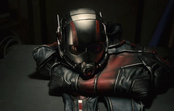 Картинка костюм, шлем, комикс, Марвел, Ant-man, Человек-муравей