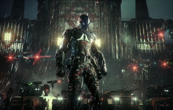 Картинка City, Batman, Arkham Knight, Рыцарь Аркхама