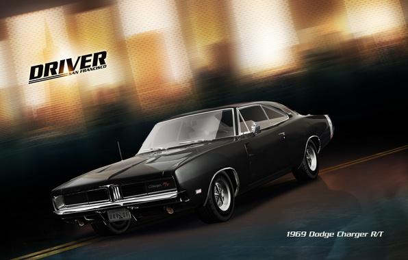 Картинка тачка, Dodge Charger, сан франциско, Driver: San Francisco