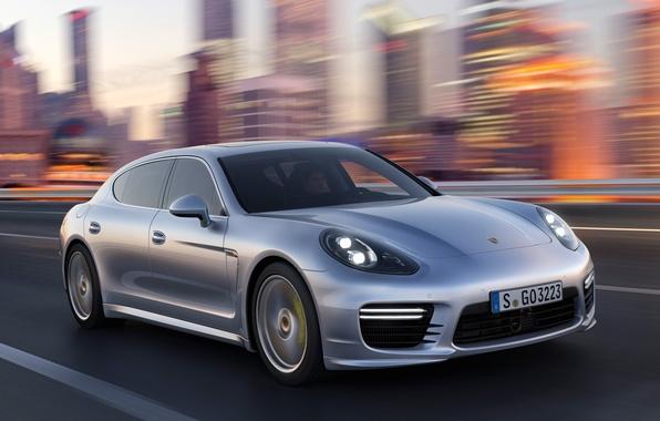 Картинка скорость, Porsche, Panamera, порше, панамера, Turbo, турбо