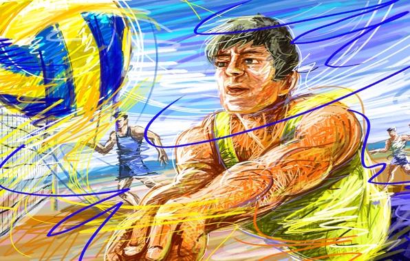 Картинка волейбол скачать 2