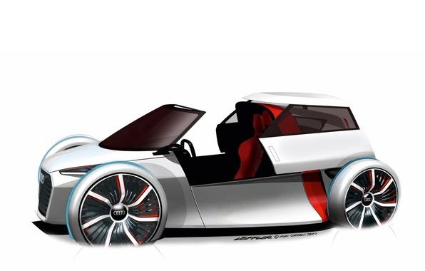 Картинка Concept, Audi, рисунок, вектор, Urban