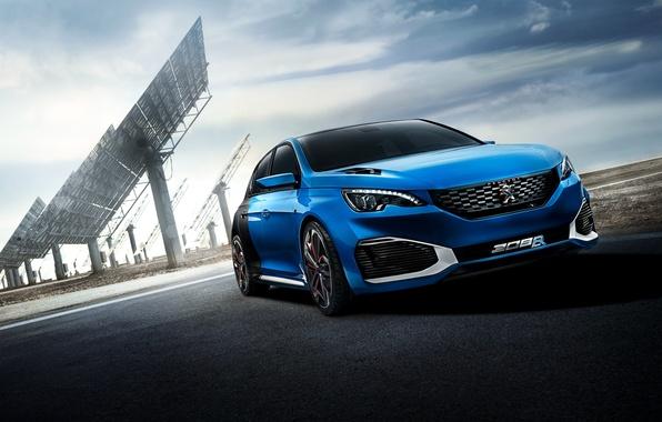 Картинка Concept, концепт, Peugeot, пежо, 2015, 308 R, HYbrid