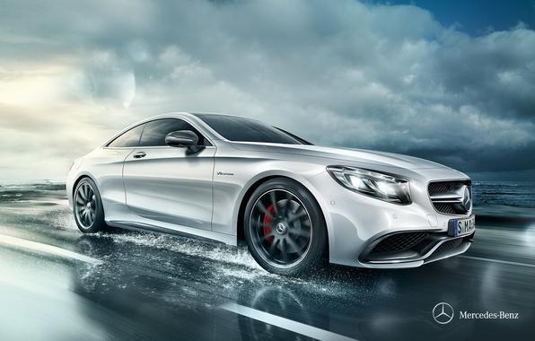Картинка купе, Mercedes-Benz, мерседес, Coupe, 2014, S-Class, C217