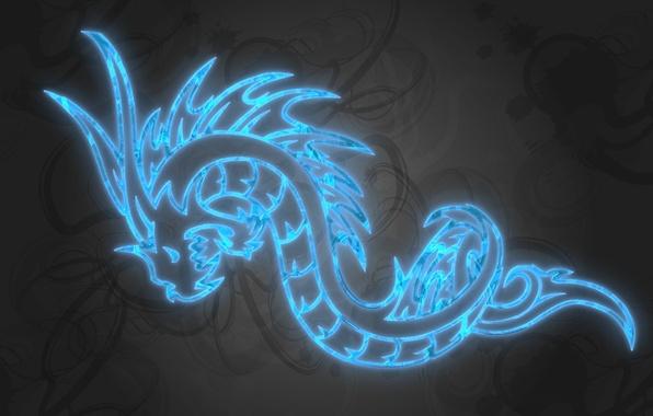 Картинка праздник, дракон, новый год, 2012, наступающий, мифическое существо