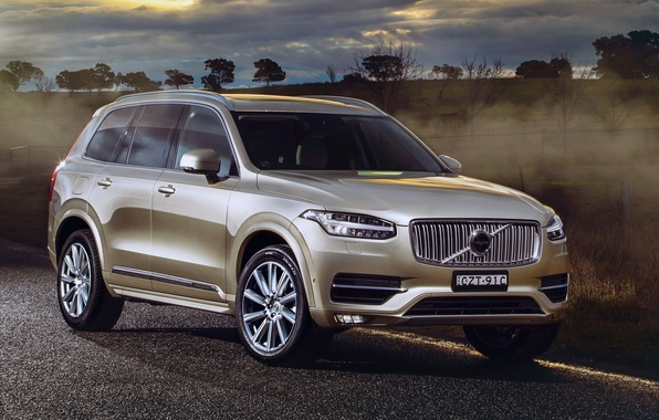 Картинка Volvo, XC90, вольво, AU-spec, 2015, Inscription