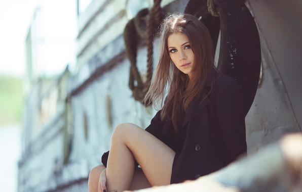 Картинка взгляд, корабль, ножки, Ксения Кокорева