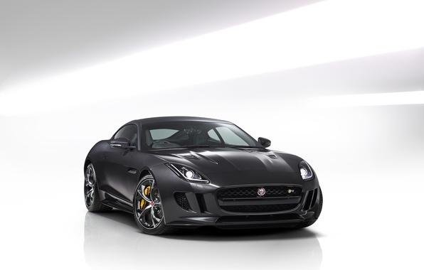 Картинка Jaguar, Coupe, UK-spec, AWD, Type R, 2014