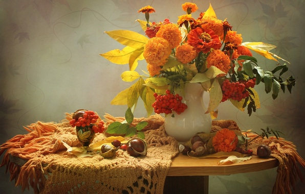 рябина осенью фото на рабочий стол
