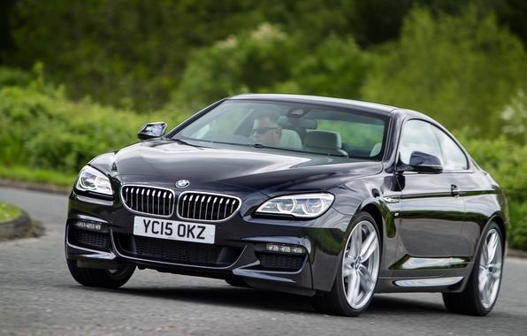 Картинка бмв, купе, BMW, Coupe, Sport, UK-spec, F13, 640d, 2015