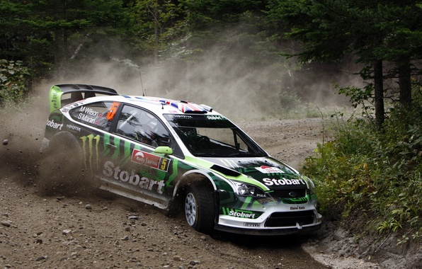 Картинка monster, rally, wrc, ford focus, british