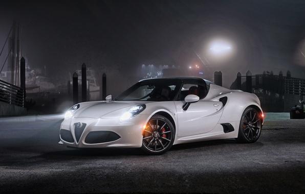 Картинка Alfa Romeo, альфа ромео, Spider, US-spec, 2015, 960