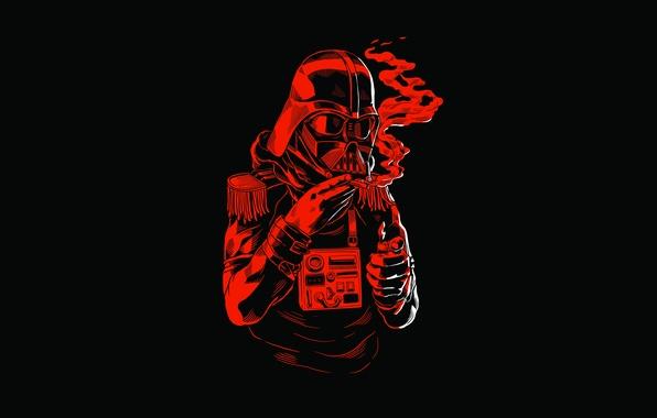 Картинка red, black, buttons, lighter, Dark Vader, Star Wars helmet, cigariilo, fringes