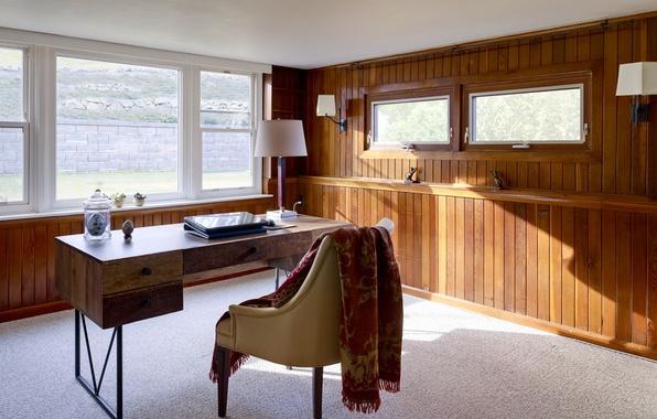 Картинка дизайн, стиль, комната, интерьер, помещение, рабочий кабинет
