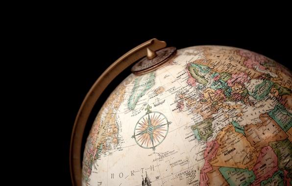 Картинка страны, шар, география, глобус
